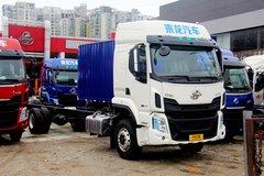 西风柳汽 乘龙H5中卡 220马力 4X2 9.7米厢式载货车(LZ5182XXYM5AB)