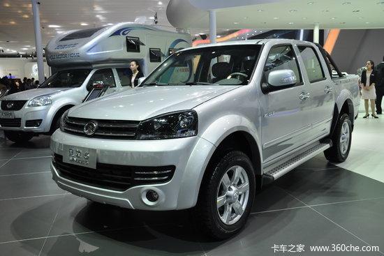 长城 风骏5 公务版 领航型 2013款 2.8l柴油 大双排皮卡