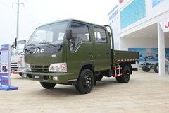 江淮 帅铃 109马力 2800轴距双排栏板轻卡 卡车图片