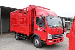 束缚 虎VH 156马力 4.16米单排仓栅式轻卡(CA5040CCYP40K59L2E5A84) 卡车图片