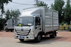 福田 欧马可S3系 156马力 4.17米单排仓栅式轻卡(国六)(BJ5048CCY-FT) 卡车图片
