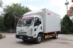 江铃 凯运蓝鲸 152马力 4.08米单排厢式轻卡(JX5045XXYTGA25) 卡车图片