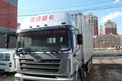 陕汽 德龙F3000重卡 336马力 8X4 9.4米厢式载货车(轻量化版)(SX5315XXYNT456) 卡车图片