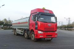 一汽解放 J6 350马力 8X4 化工液体运输车(中集牌)(ZJV5311GHYLY)