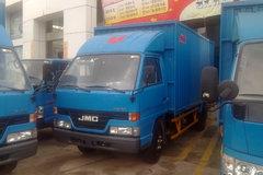 江铃经典顺达 116马力 4.2米单排厢式轻卡 卡车图片