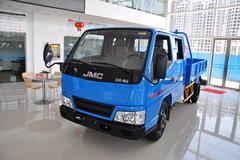 江铃新凯运 102马力 3.3米双排栏板轻卡(窄体) 卡车图片