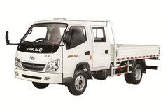 唐骏金利卡 80马力 3.3米双排栏板轻卡 卡车图片