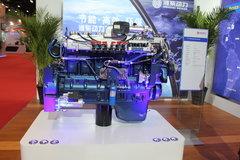 潍柴WP12NG380E50 380马力 12L 国五 天然气发动机