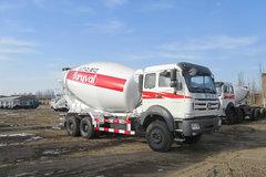 北奔重卡 336马力 6X4 混凝土搅拌车(ND52504GJBZ)