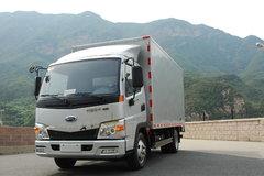 开瑞 绿卡S 129马力 4.2米单排厢式轻卡(SQR5041XXYH02D) 卡车图片