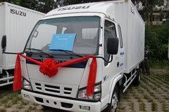 庆铃 五十铃600P 130马力 3.8米排半厢式轻卡 卡车图片