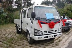 庆铃 五十铃600P 130马力 4米双排栏板轻卡 卡车图片