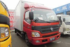 福田 欧马可1系 131马力 4.165米单排厢式轻卡 卡车图片