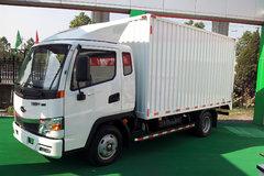 开瑞 绿卡S 129马力 4米排半厢式轻卡(SQR5041XXYH01D) 卡车图片
