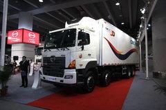 广汽日野 700系列 350马力 8X4 冷藏车(中集牌)(ZJV5311XLCSZ)