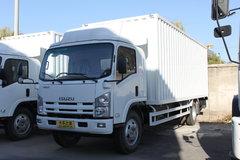 庆铃 700P系列中卡 175马力 4X2 5.5米排半厢式载货车(QL5090XTLAR)