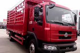 东风柳汽 乘龙中卡 160马力 4X2 6.8米排半仓栅载货车(LZ5165CSRAP)