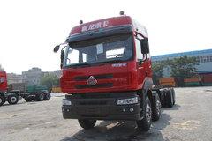东风柳汽 霸龙重卡 340马力 8X4 8.2米自卸车(底盘)