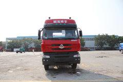 东风柳汽 霸龙重卡 260马力 8X2 9.6米排半厢式载货车(LZ5313XXYPEL)