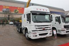 中国重汽 HOWO重卡 340马力 6X4 LNG牵引车(ZZ4257N3847D1L) 卡车图片