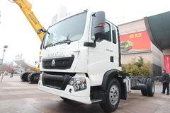 中国重汽 HOWO T5G中卡 210马力 4X2载货车底盘(ZZ1167H451GD2/H6B7M) 卡车图片