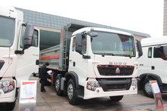 中国重汽 HOWO T5G系重卡 310马力 8X4 7.6米自卸车(ZZ3317N356GD2) 卡车图片