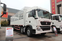 中国重汽 HOWO T5G重卡 336马力 8X4 9.5米仓栅式载货车(ZZ1317N466GD1) 卡车图片