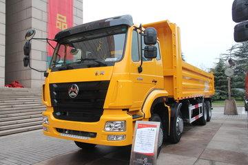 中国重汽 豪瀚J7B 340马力 8X4 6.5米自卸车(457后桥)(ZZ3315N3266E1)
