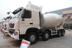 中国重汽 HOWO-T7H 390马力 8X4 混凝土搅拌车