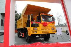 红岩 金刚矿霸 371马力 6X4 宽体矿用自卸车(CQ5763PTG384)