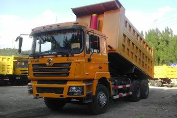 德龙F3000后八轮报价 陕汽重卡德龙F3000 380马力6X4 5.6米LNG自卸车