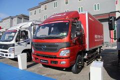 福田 欧马可3系 4X2 156马力 5.2米厢式载货车(BJ5099VECED-FA) 卡车图片