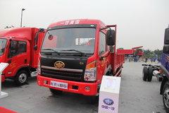青岛解放 赛龙中卡 140马力 4X2 6.8米排半栏板载货车(SCR)(CA1169PK2L2E4A80) 卡车图片