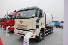 解放 J6P 350马力 6X4 混凝土搅拌车(CA1250P66K2L2T1S2E4)