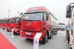解放 J6P 350马力 8X4 粉粒物料运输车(CA1310P66K2L7T4E4Z)