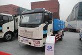 解放 J6L 160马力 4X2 厢式可卸式垃圾车(CA1160P62K1L4E)