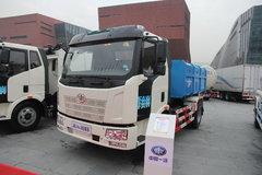 一汽解放 J6L 160马力 4X2 厢式可卸式垃圾车(CA1160P62K1L4E)