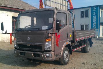 中国重汽HOWO 悍将 物流版 170马力 5.15米单排栏板载货车(10档)(ZZ1087G381CE183)