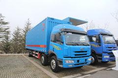 青岛解放 悍威(J5M)重卡 220马力 6X2 9.5米厢式排半载货车(CA5253CLXYP7K2L11T3AE) 卡车图片