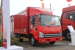 解放 虎V 100马力 4.2米单排仓栅轻卡 卡车图片