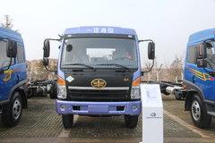 青岛解放 赛龙中卡 194马力 4X2 7.2米排半厢式载货车(CA5160XXYPK2L5NA80-3) 卡车图片