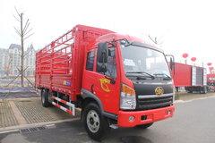 青岛解放 赛龙中卡 160马力 4X2 6.2米排半仓栅式载货车(CA5169XXYPK2L2EA80-1) 卡车图片