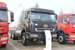 青岛解放 新大威重卡 350马力 6X4 5.4米LNG自卸车(CA3256P2K2T1NA80) 卡车图片