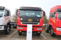 青岛解放 新大威重卡 380马力 8X4 8米LNG自卸车(CA3310P2K2L5T4NA80)