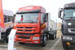 青岛解放 新悍威J5M重卡 336马力 6X4 LNG牵引车(复合型)(CA4253P1K15T1NA80) 卡车图片