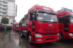 解放 J6P重卡 350马力 4X2 牵引车(CA4180P66K2AE)
