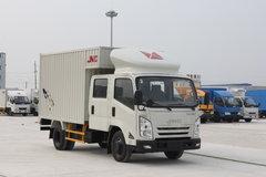江铃凯锐800 120马力 3.1米双排厢式轻卡 卡车图片