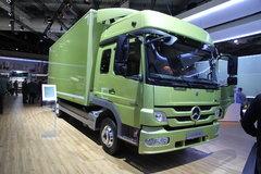 奔驰 Atego中卡 238马力 4X2厢式载货车(型号1224) 卡车图片