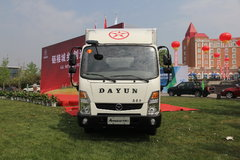 大运 奥普力 170马力 3.85米排半厢式轻卡(CGC5042XXYHDE33E)图片