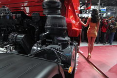 东风商用车 天龙重卡 340马力 6X2牵引车